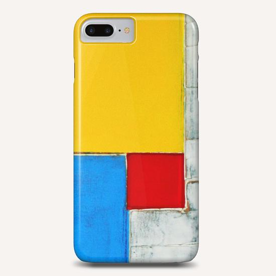 Red Square Phone Case by Pierre-Michael Faure