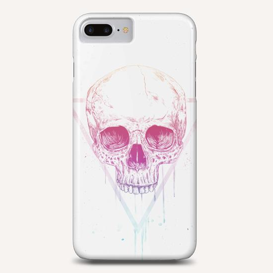 Skull in triangle Phone Case by Balazs Solti