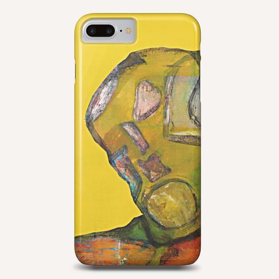 visage Phone Case by Pierre-Michael Faure