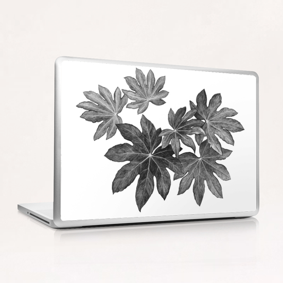 Leaves Laptop & iPad Skin by Nika_Akin