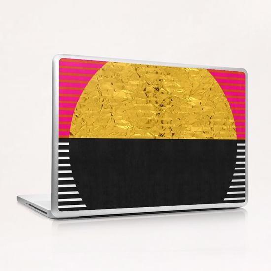 Geometric and golden art Laptop & iPad Skin by Vitor Costa