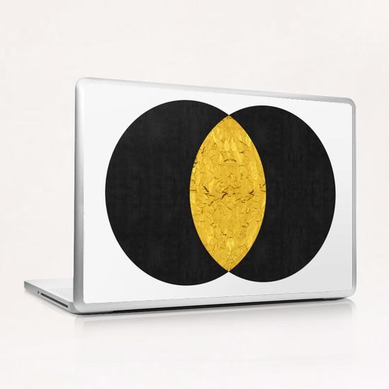 Geometric and golden art II Laptop & iPad Skin by Vitor Costa