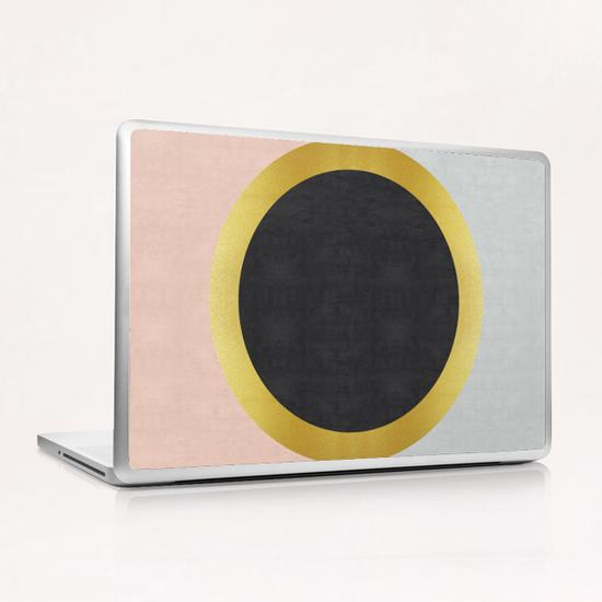 Geometric and golden art III Laptop & iPad Skin by Vitor Costa