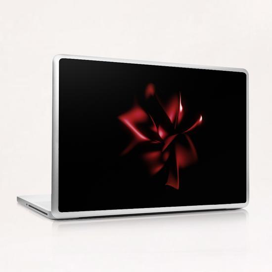 Dark Flower Laptop & iPad Skin by cinema4design