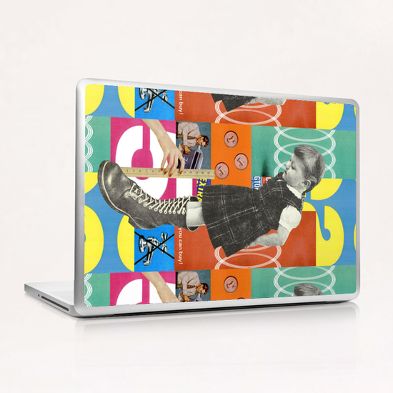 Fitting Laptop & iPad Skin by Lerson