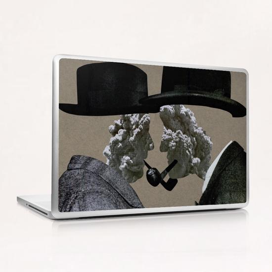 Smoke (II) Laptop & iPad Skin by Lerson