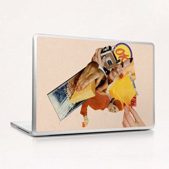 Say Cheese! Laptop & iPad Skin by Lerson