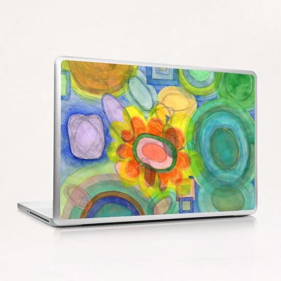 A closer Look at the Flower  Universe  Laptop & iPad Skin by Heidi Capitaine