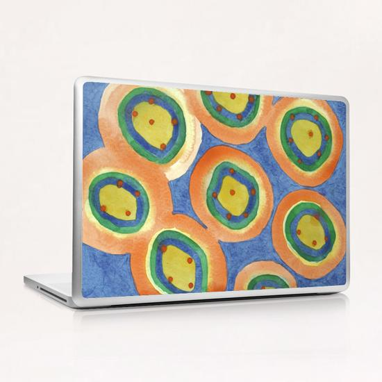 . Merry Circles arranged  to a big Circle  Laptop & iPad Skin by Heidi Capitaine