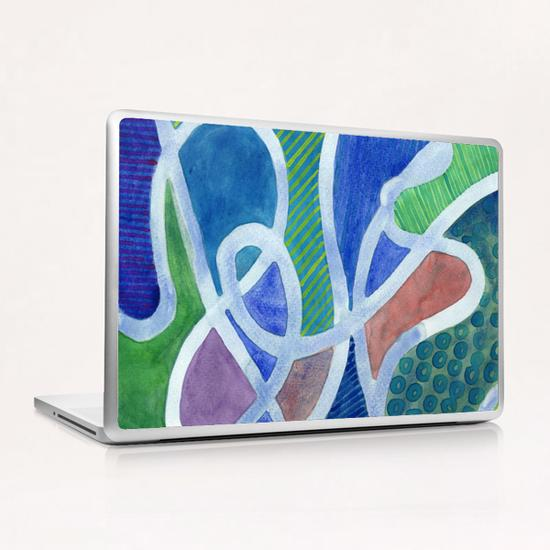 Curved Paths Laptop & iPad Skin by Heidi Capitaine