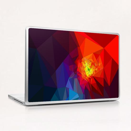 Colorful Triangles Laptop & iPad Skin by PIEL Design