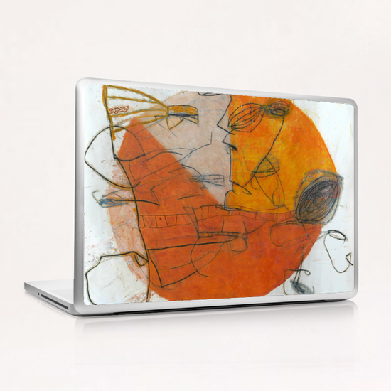 Composition 8 Laptop & iPad Skin by Jean-Noël Bachès