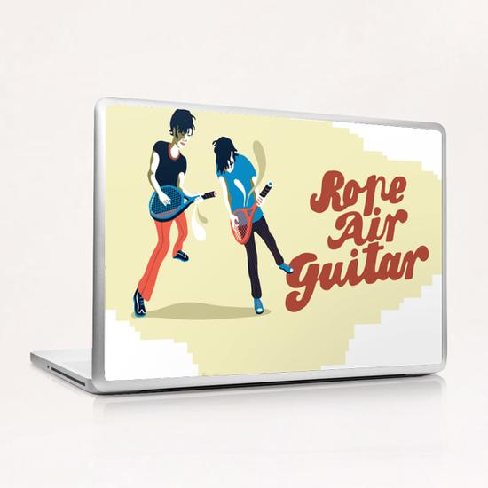 ROPE AIR GUITAR Laptop & iPad Skin by Francis le Gaucher