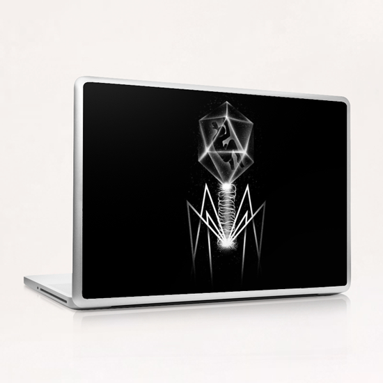 Bacteriophage Laptop & iPad Skin by Tobias Fonseca