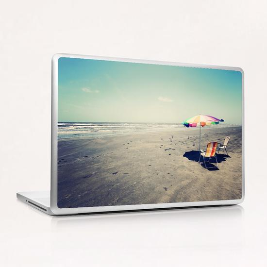 Beach Day Laptop & iPad Skin by Trish Mistric