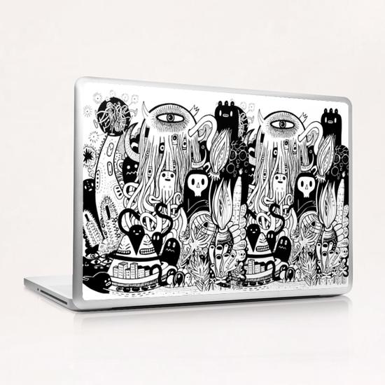Big Garden  Laptop & iPad Skin by Exit Man