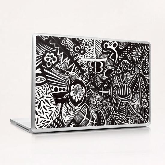 Mandala personnel Laptop & iPad Skin by Denis Chobelet