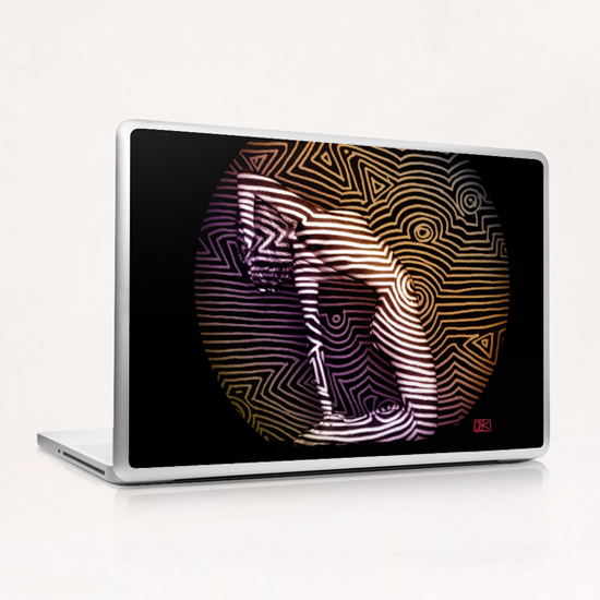 Courbes sur Courbes Laptop & iPad Skin by Denis Chobelet