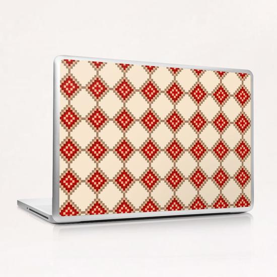 Pixelated Christmas Laptop & iPad Skin by PIEL Design
