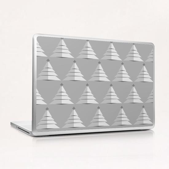 Grey Christmas by PIEL Laptop & iPad Skin by PIEL Design