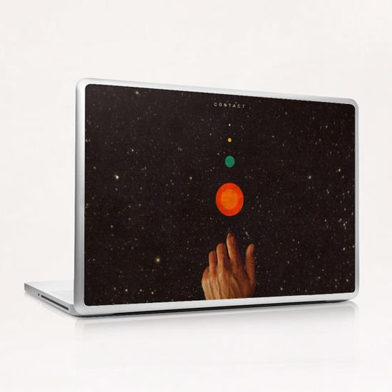 Contact Laptop & iPad Skin by Frank Moth