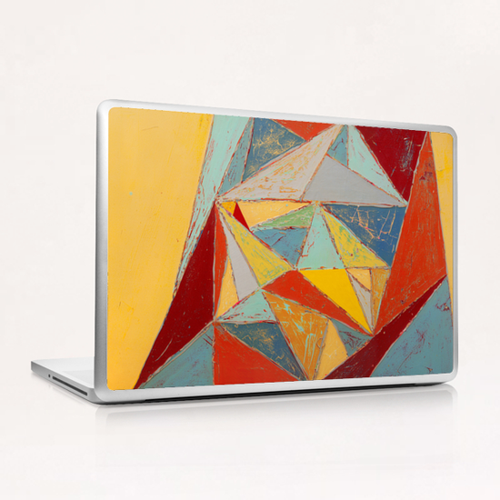 Cristallisation Laptop & iPad Skin by Pierre-Michael Faure