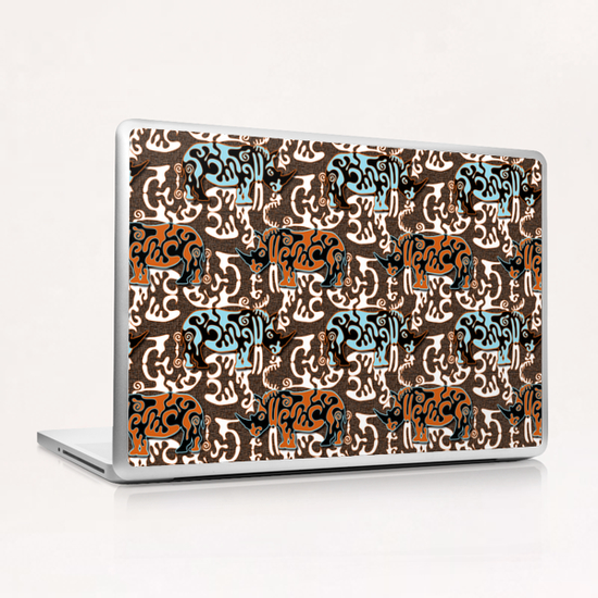 Diceros Bicornis Laptop & iPad Skin by vannina