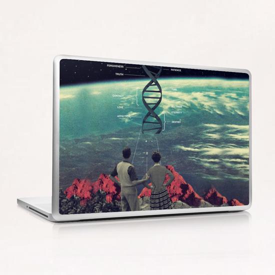 Distance & Eternity Laptop & iPad Skin by Frank Moth