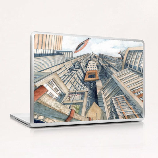Downtown Laptop & iPad Skin by Davide Magliacano