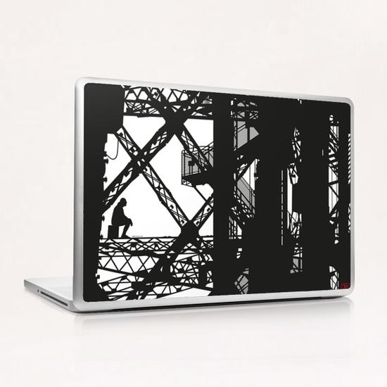 Eiffel tower #4 Laptop & iPad Skin by Denis Chobelet