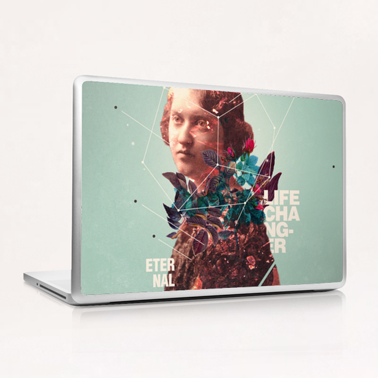 Eternal Lifechanger  Laptop & iPad Skin by Frank Moth