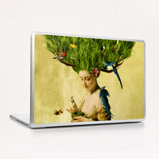 Safe Haven Laptop & iPad Skin by DVerissimo