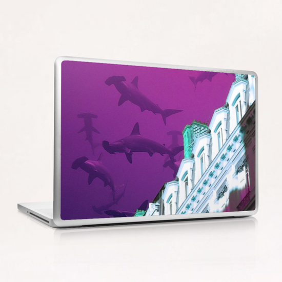 Building in Lyon Laptop & iPad Skin by Ivailo K