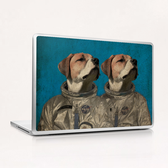 Journey into outer space Laptop & iPad Skin by durro art