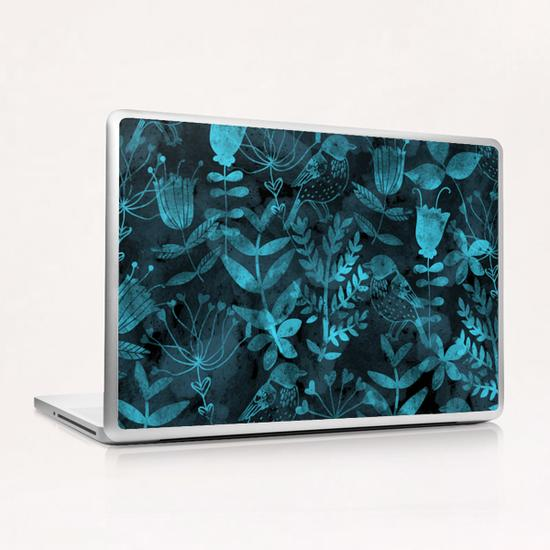 Abstract Botanical Garden  Laptop & iPad Skin by Amir Faysal