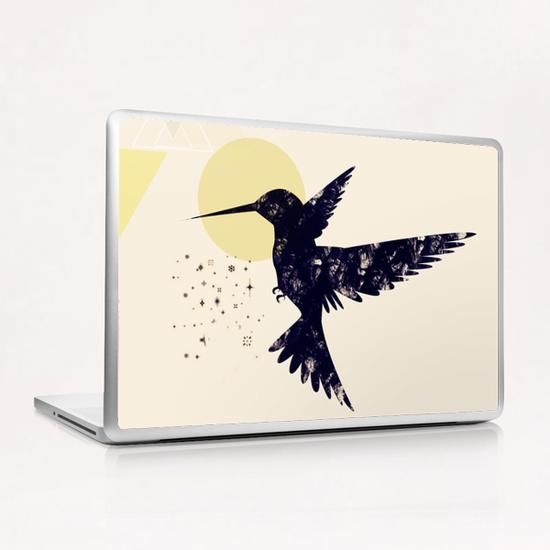 Bird X Laptop & iPad Skin by Amir Faysal