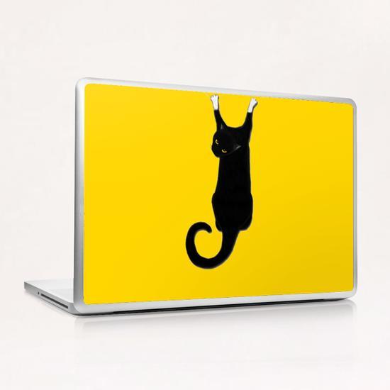 Hang Cat Laptop & iPad Skin by Tummeow