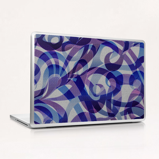 Floral Abstract G4 Laptop & iPad Skin by MedusArt