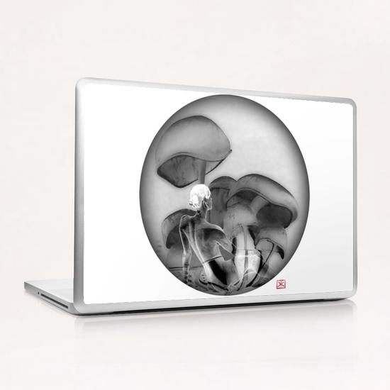 Lina 2 Laptop & iPad Skin by Denis Chobelet