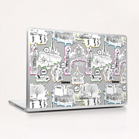 Parc Monceau (Paris) Laptop & iPad Skin by vannina