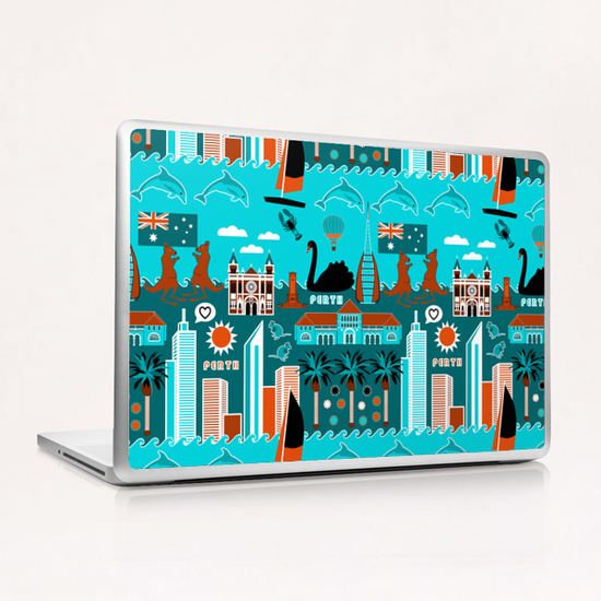 Perth Lifestyle Laptop & iPad Skin by vannina