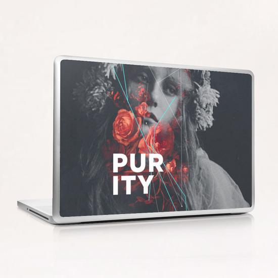 Purity Laptop & iPad Skin by Frank Moth