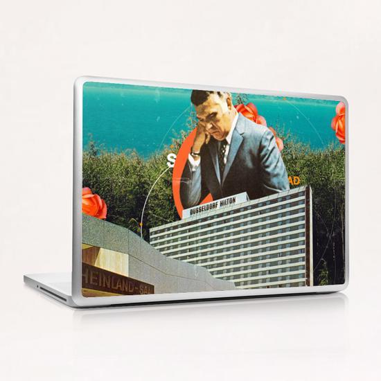 Sad Laptop & iPad Skin by Frank Moth