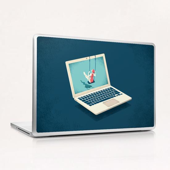 SWINGING Laptop & iPad Skin by Andrea De Santis