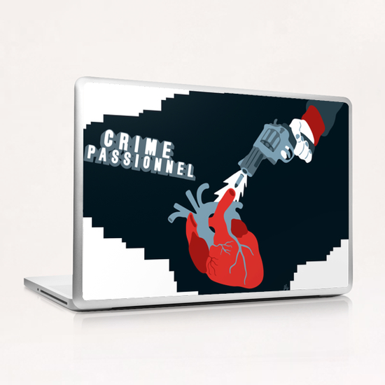CRIME OF PASSION Laptop & iPad Skin by Francis le Gaucher