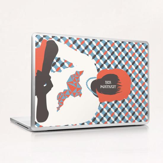 HER PORTRAIT Laptop & iPad Skin by Francis le Gaucher