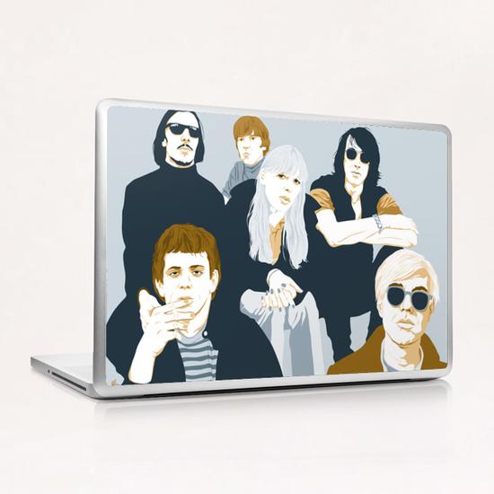 VELVET UNDERGROUND Laptop & iPad Skin by Francis le Gaucher