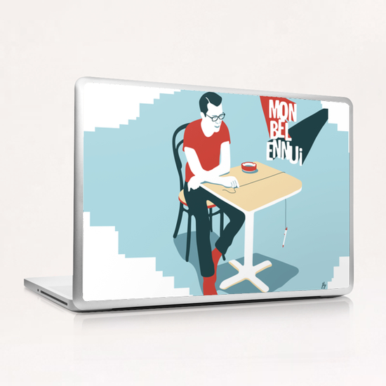 MY BEAUTIFUL BOREDOM Laptop & iPad Skin by Francis le Gaucher
