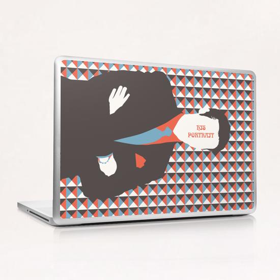 HIS PORTRAIT Laptop & iPad Skin by Francis le Gaucher