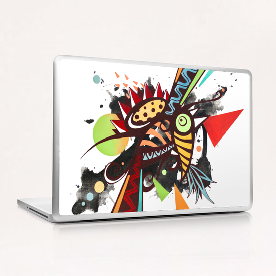 Fragmented incandescent nature Laptop & iPad Skin by Skount
